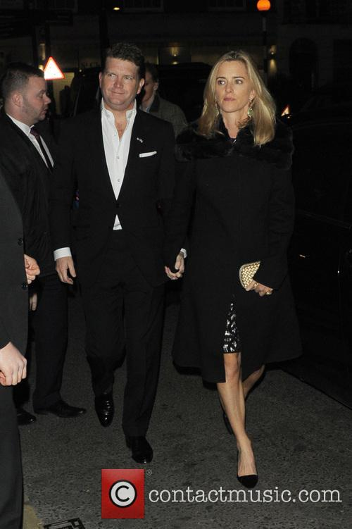 Harvey Weinstein's Pre-BAFTA dinner at Little House
