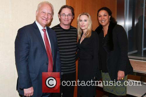 Guest, Richard Thomas, Imogen Lloyd Webber and Linda Powell 2