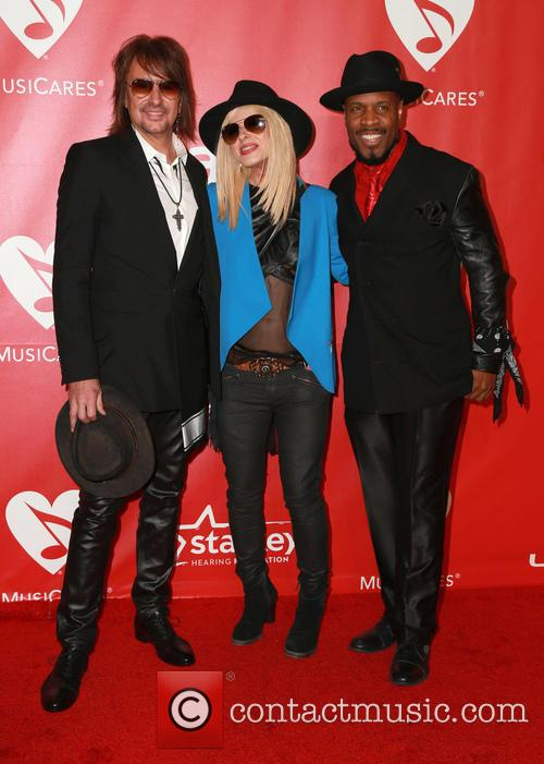 Orianthi, Richie Sambora and Michael Bearden 2