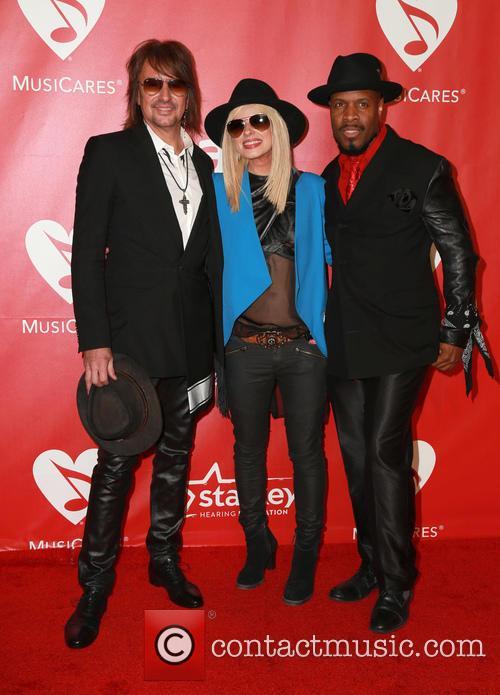 Orianthi, Richie Sambora and Michael Bearden 5