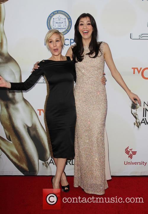 Liza Weil and Katie Findlay 10