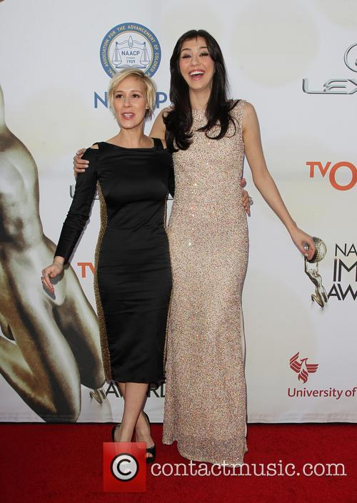 Liza Weil and Katie Findlay 11