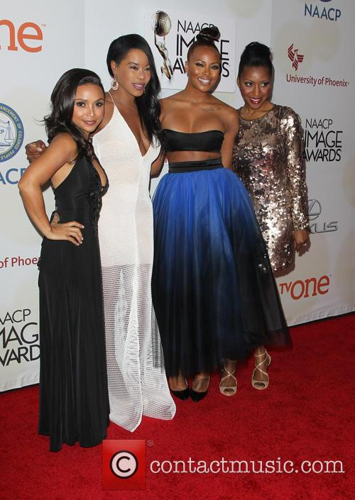 Danielle Nicolet, Golden Brooks, Eva Marcille and Gabrielle Dennis 8