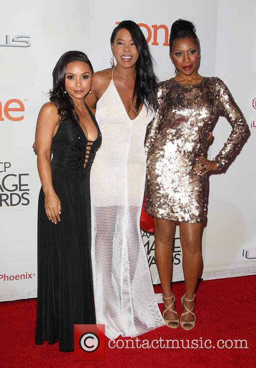 Danielle Nicolet, Golden Brooks, Eva Marcille and Gabrielle Dennis 9