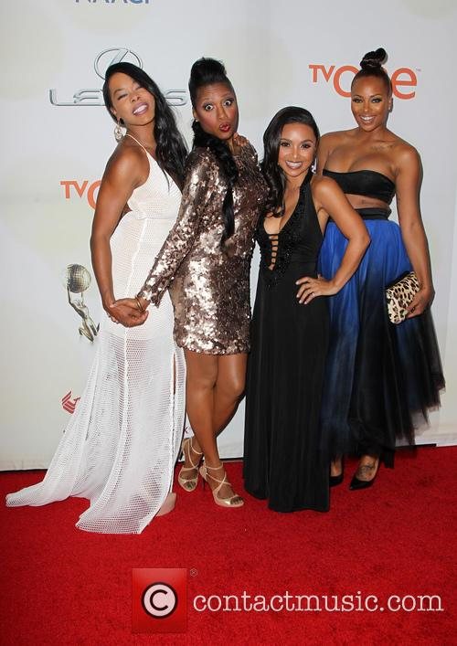 Danielle Nicolet, Golden Brooks, Eva Marcille and Gabrielle Dennis 11