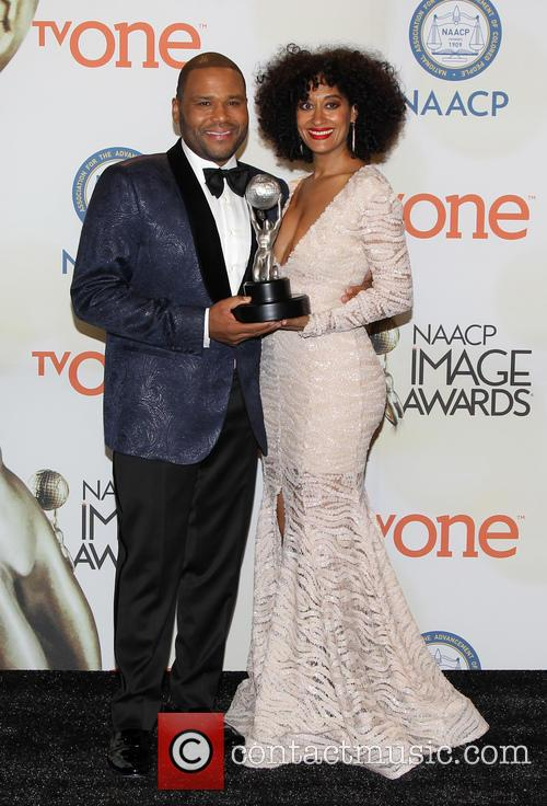 Anthony Anderson and Tracee Ellis Ross 11