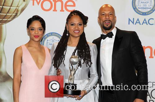 Ava Duvernay, Common and Tessa Thompson 5