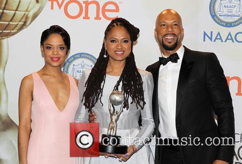 Ava Duvernay, Common and Tessa Thompson 6