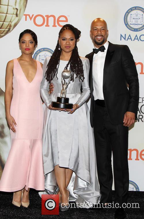 Ava Duvernay, Common and Tessa Thompson 7