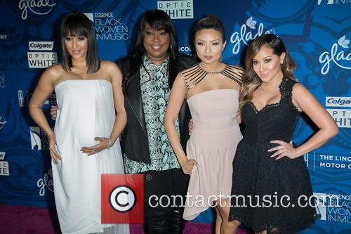 Tamera Mowry-housley, Loni Love, Jeannie Mai and Adrienne Bailon 2