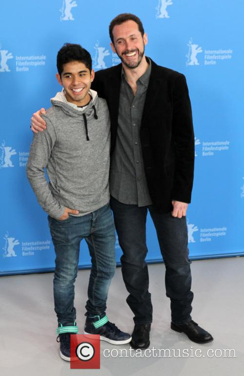Berlin, Actor Kristyan Ferrer and Gabriel Ripstein 1