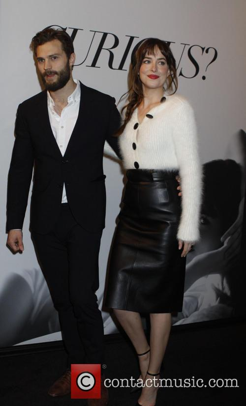 Dakota Johnson and Jaime Dornan 1