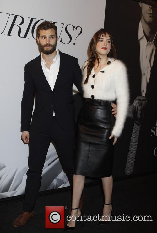 Dakota Johnson and Jaime Dornan 3