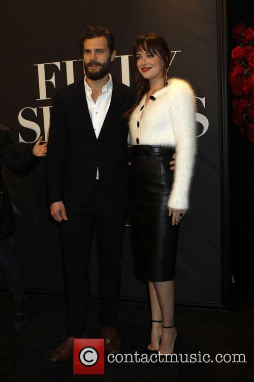 Dakota Johnson and Jaime Dornan 6