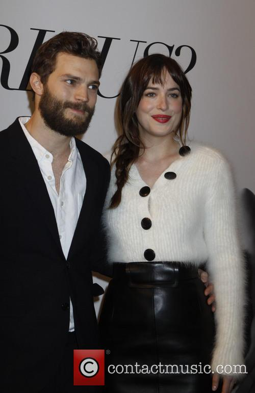 Dakota Johnson and Jaime Dornan 7