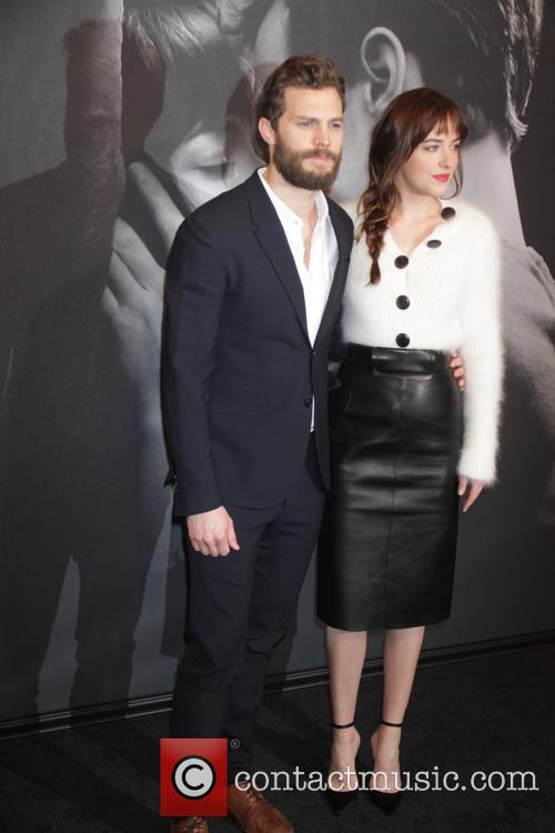 Jamie Dornan and Dakota Johnson 2