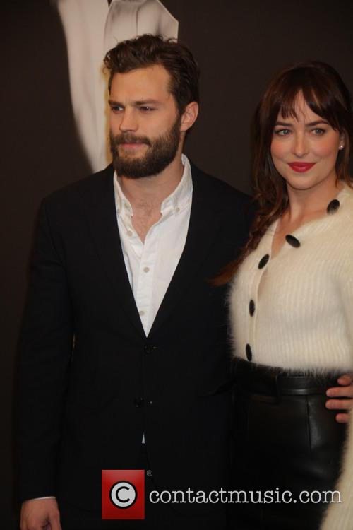 Jamie Dornan and Dakota Johnson 3