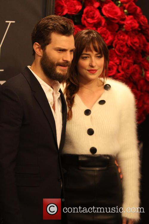 Jamie Dornan and Dakota Johnson 5