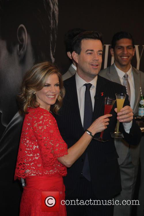 Natalie Morales and Carson Daly 2