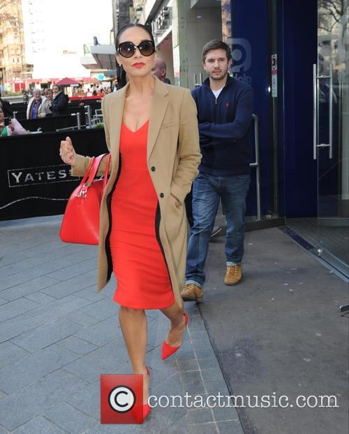 Myleene Klass seen out in London