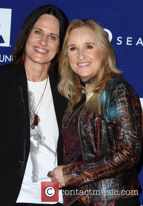 Linda Wallem and Melissa Etheridge 1