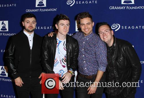 Walk The Moon, Eli Maiman, Nicholas Petricca and Kevin Ray 2