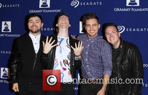 Walk The Moon, Eli Maiman, Nicholas Petricca and Kevin Ray 1