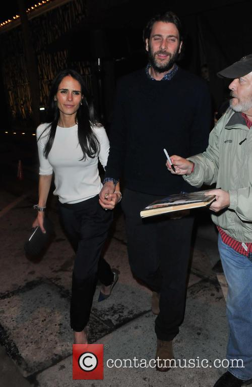 Jordana Brewster and Andrew Form 6