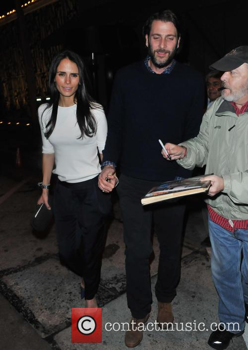 Jordana Brewster and Andrew Form 7