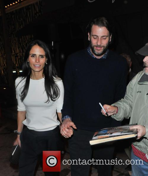 Jordana Brewster and Andrew Form 8