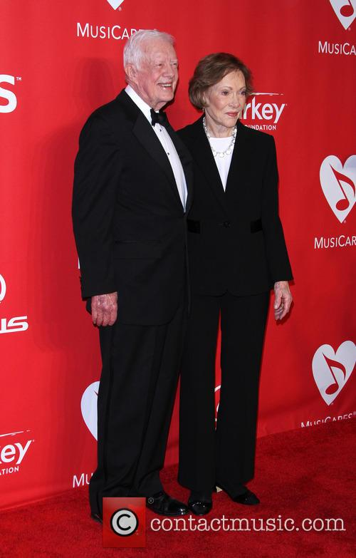 Jimmy Carter and Former First Lady Rosalynn Carter 4