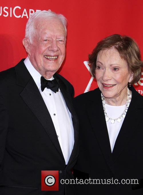 Jimmy Carter and Former First Lady Rosalynn Carter 6