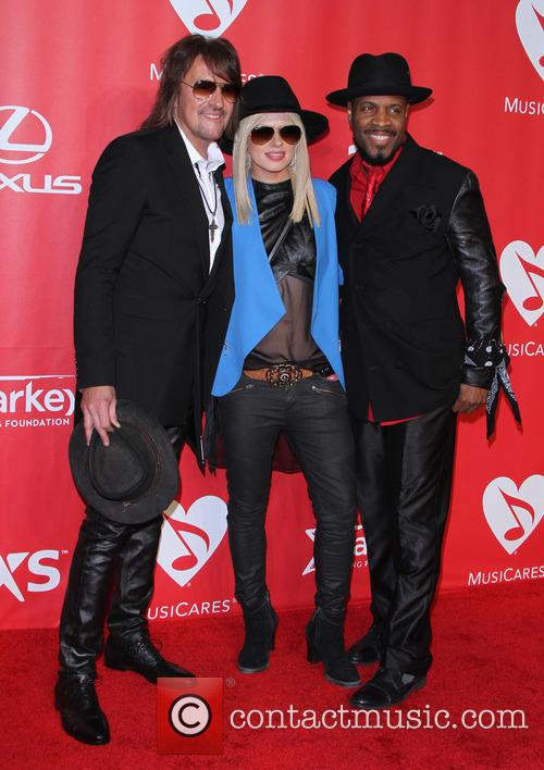 Richie Sambora, Orianthi and Michael Bearden 2
