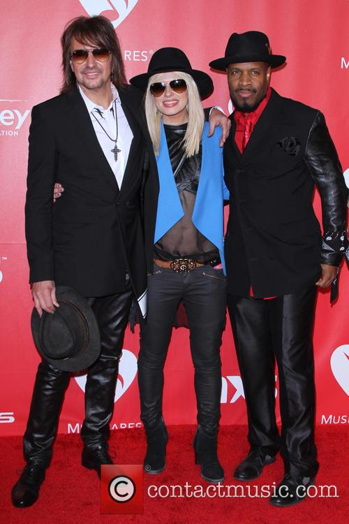 Richie Sambora, Orianthi and Michael Bearden 1