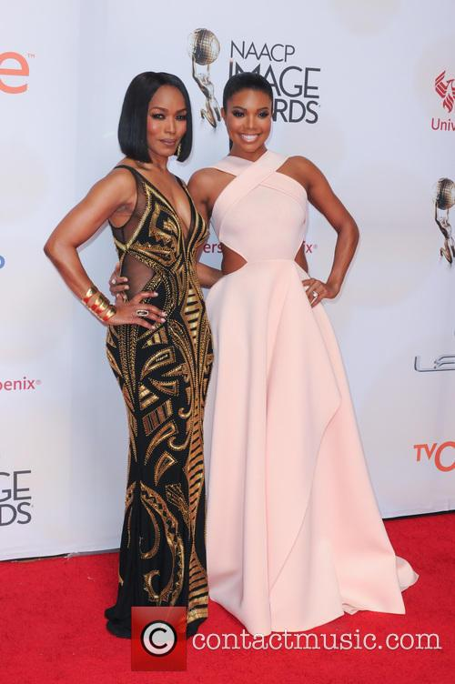 Angela Bassett and Gabrielle Union