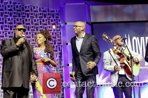Stevie Wonder, Ledisi, Donnie Mcclurkin and Jonathan Butler 3