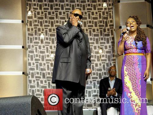 Stevie Wonder, Ledisi and Donnie Mcclurkin 2