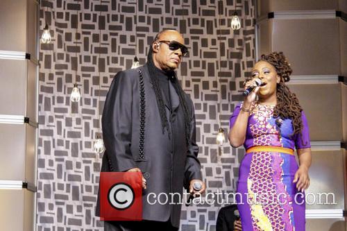 Stevie Wonder and Ledisi 4