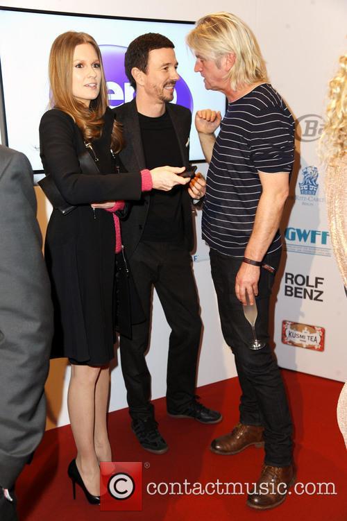 Katrin Kraus, Oliver Berben and Detlev Buck