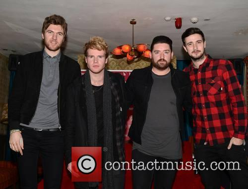 Mark Prendergast, Steve Garrigan, Vinny Mae, Jason Boland and Kodaline 2