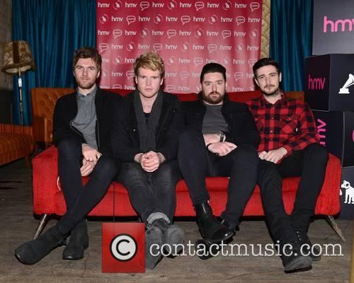 Mark Prendergast, Steve Garrigan, Vinny Mae, Jason Boland and Kodaline 1