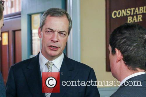 Ukip leader Nigel Farage speaks at the North...