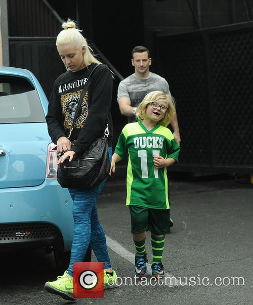 EXCLUSIVE Gwen Stefani's son Zuma Rossdale spotted leaving...