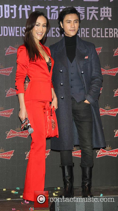 Maggie Q and And Chen Kun 4