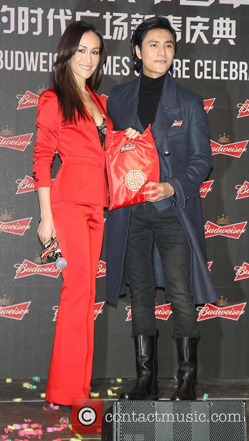 Maggie Q and And Chen Kun 6