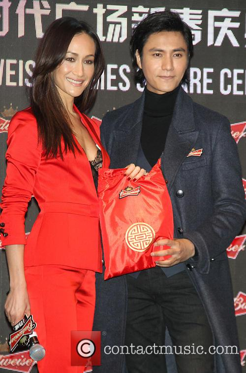 Maggie Q and And Chen Kun 7
