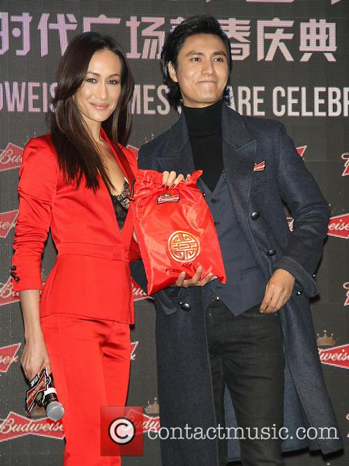 Maggie Q and And Chen Kun 8