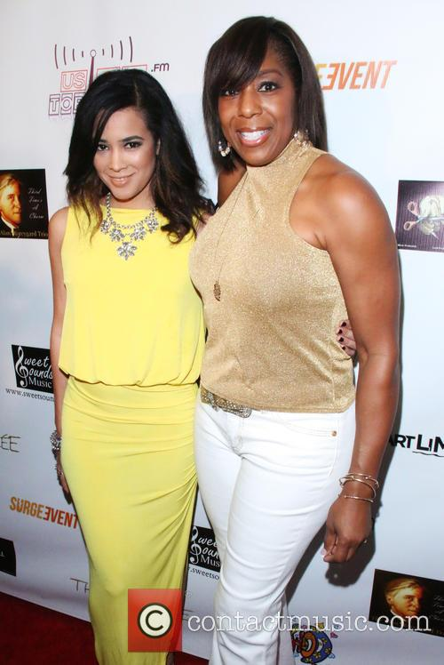 Melissa B and Dawnn Lewis