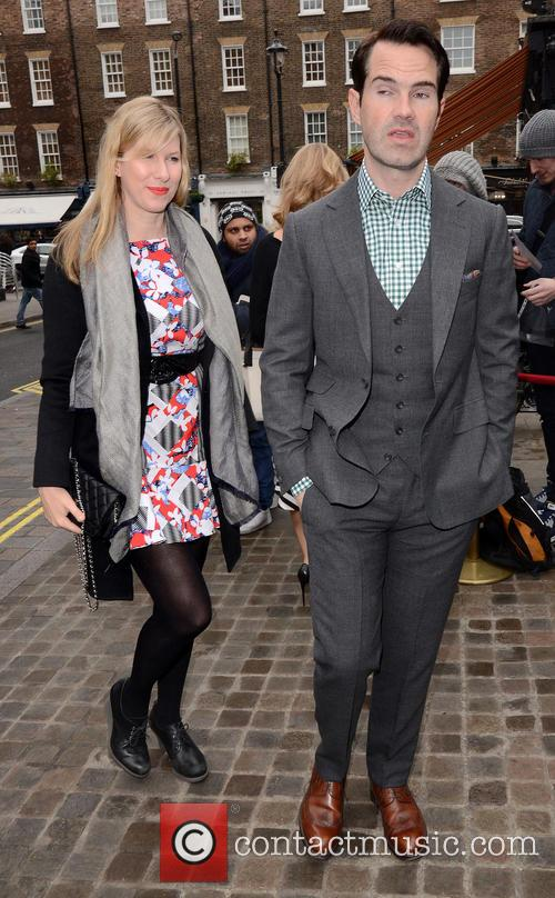 Karoline Copping and Jimmy Carr 1