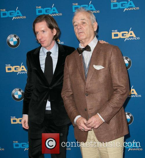 Wes Anderson and Bill Murray 6